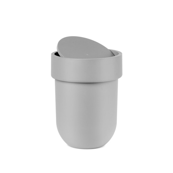 Umbra Touch Waste Can with Lid, Grey