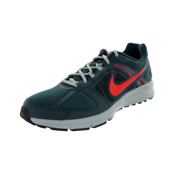 Nike Men's Air Relentless 3 Armony Navy/Chllng Red/Wlf Gry Running Shoe 10.5 Men US