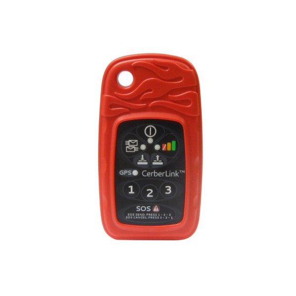 BriarTek Cerberus Two-Way Satellite Messaging and GPS Tracking System, Red