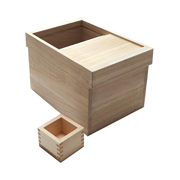 Yamako Kiri rice bin for 5kg (Japan import / The package and the manual are written in Japanese)