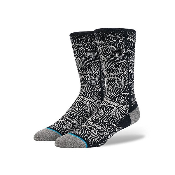 Stance Mens Pulse Socks Large Navy