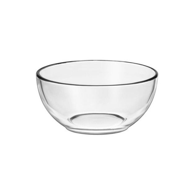 Libbey Crisa Moderno Cereal Bowl, 6-Inch, Box of 12, Clear