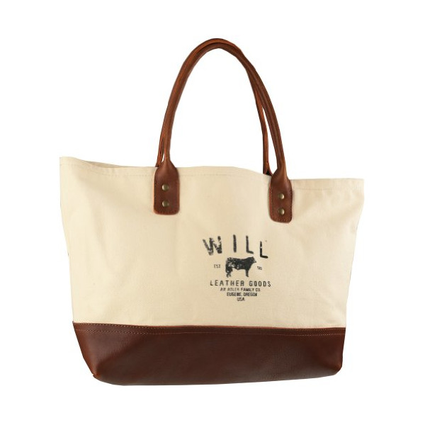 Will Leather Goods Utility Tote - Natural