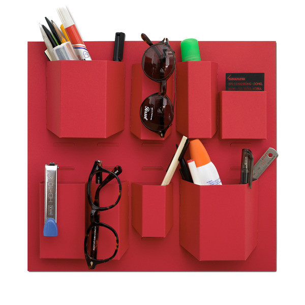 Paperage Mini Wall Pocket Organizer