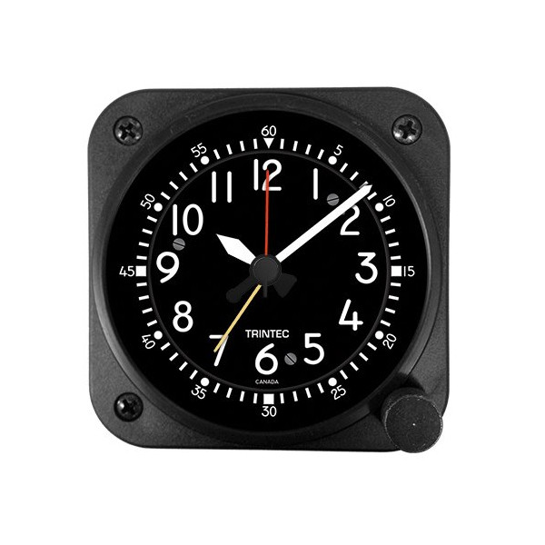 Trintec Aviation Classic Desk Top Travel Alarm Clock
