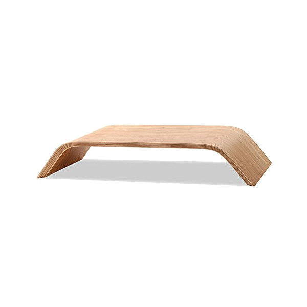 BELKA iMac Universal Monitor Stand, Solid Birch Wood