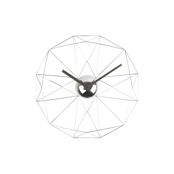 Present Time Karlsson Diamond Web Wall Clock