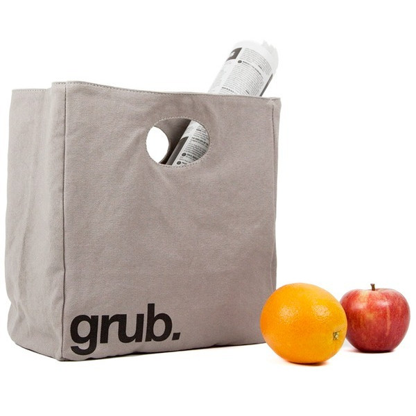 Fluf Organic Cotton Lunch Bag, Grub