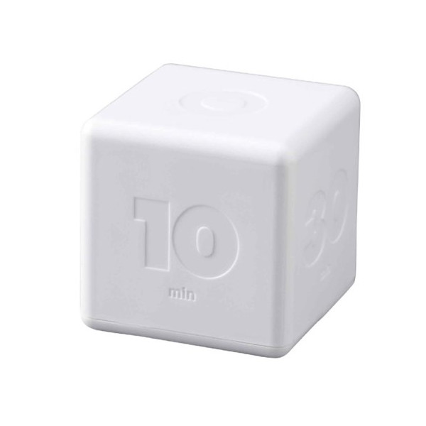 Cubic Timer White