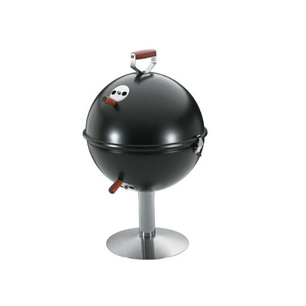 Kuchenprofi: Mini Kettle Grill Barbecue Barbeque BBQ with stand in Black