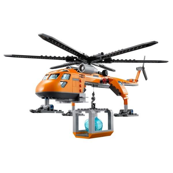 LEGO City Arctic Helicrane Building Toy