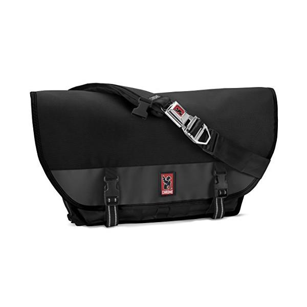 Chrome Citizen Messenger Bag Black/Black 26L Mens