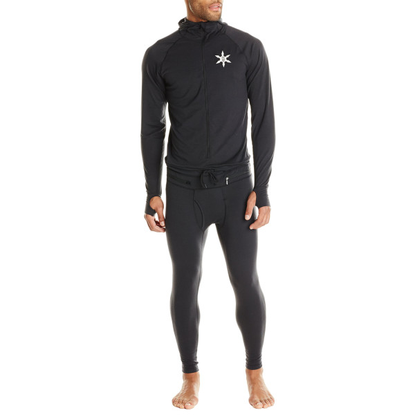 Airblaster Men's Base Layer Ninja Suit, Black