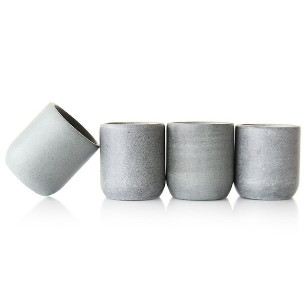 Top Shelf Living Soapstone Shot Glasses, Set of 4