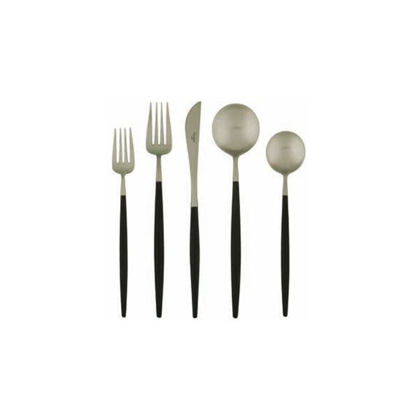 lolo flatware - black matte