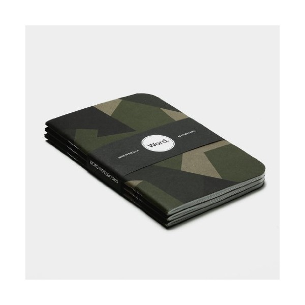 Word Notebooks Swedish Camo