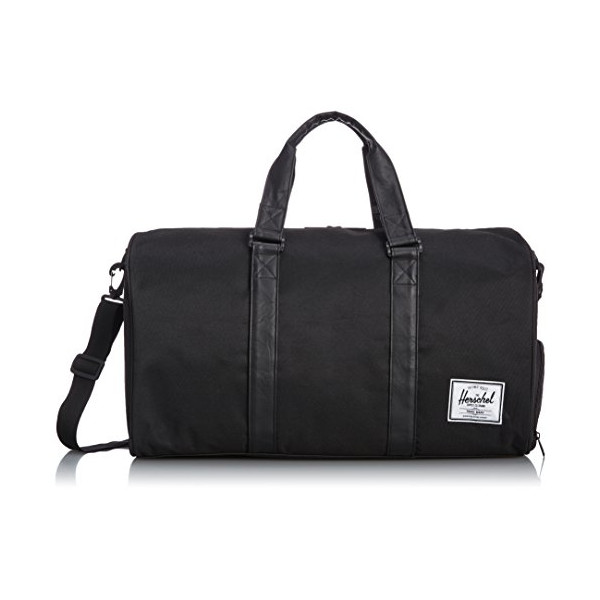 Herschel Supply Co. Novel Duffel Bag, Black/Black, One Size