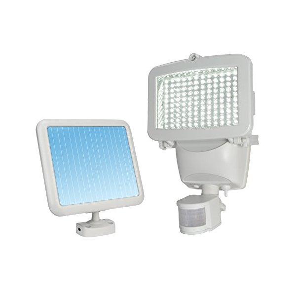 Sunforce 82120 White 120-LED Solar Motion Light