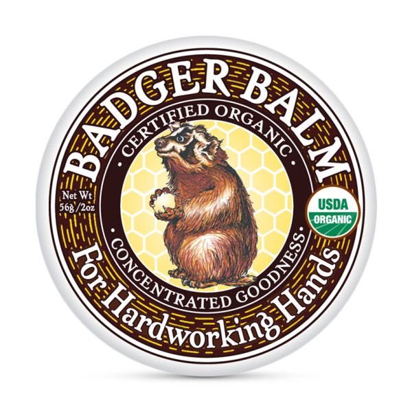 Badger Balm For Hardworking Hands, 2oz