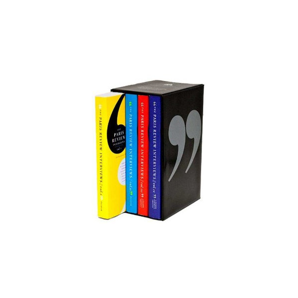 The Paris Review Interviews, Vols. 1-4 [Box Set] [Paperback]