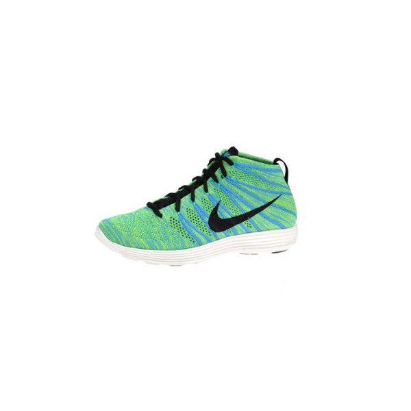 Nike Lunar Flyknit Chukka Blue Glow - Black Volt