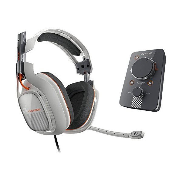 ASTRO Gaming A40 and MixAmp Pro - Light Grey