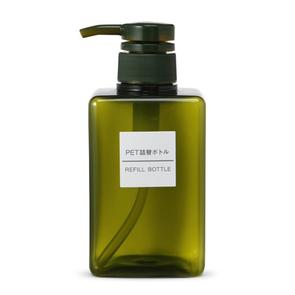 Muji Refill Bottle, 400ml, Green