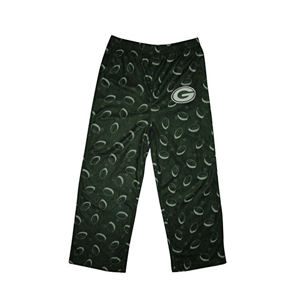 NFL Green Bay Packers BOYS Sleepwear / Pajama Pants 6-7 Green