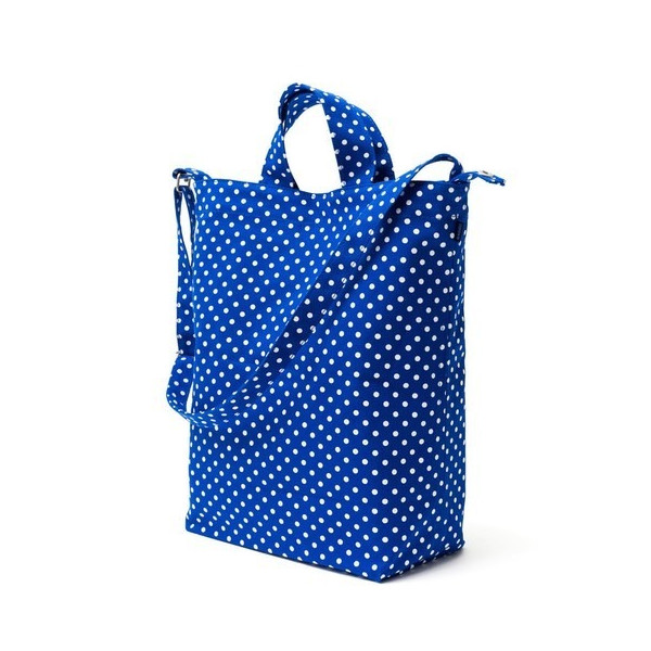 BAGGU Duck Bag Blue Dot, One Size