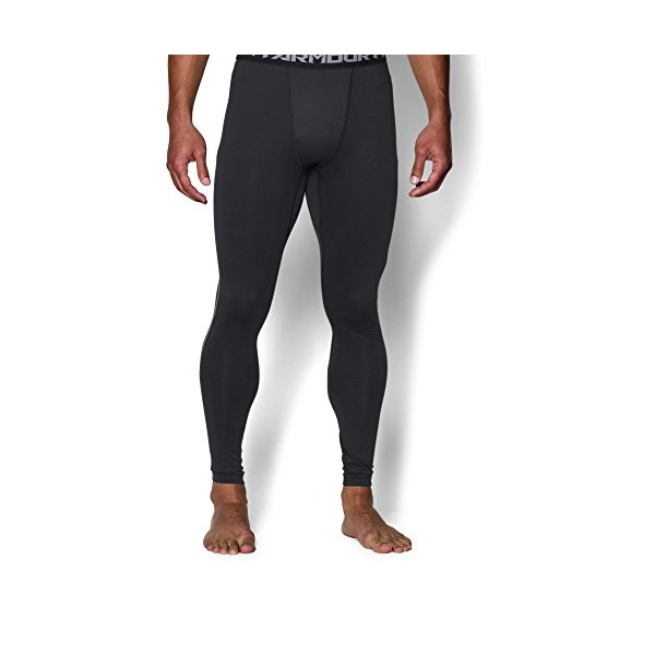 Under Armour Men's ColdGear Leggings, Black (001), Small