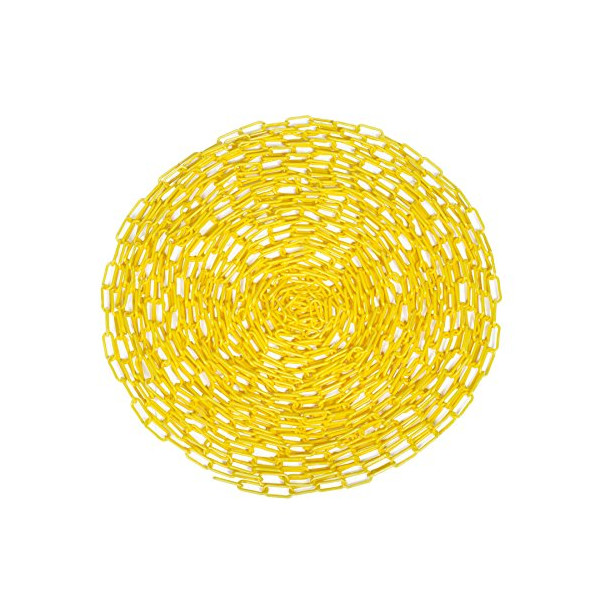STEELMAN 302230 Yellow Plastic Safety Chain