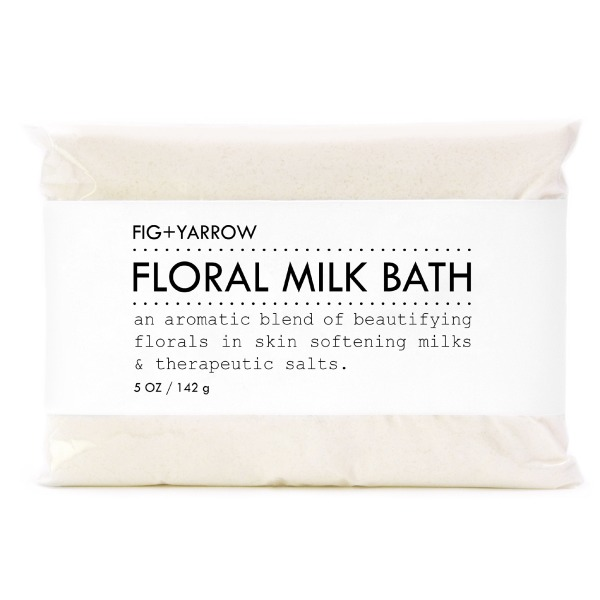 FIG+YARROW Organic Floral Milk Bath