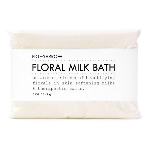 FIG+YARROW Organic Floral Milk Bath