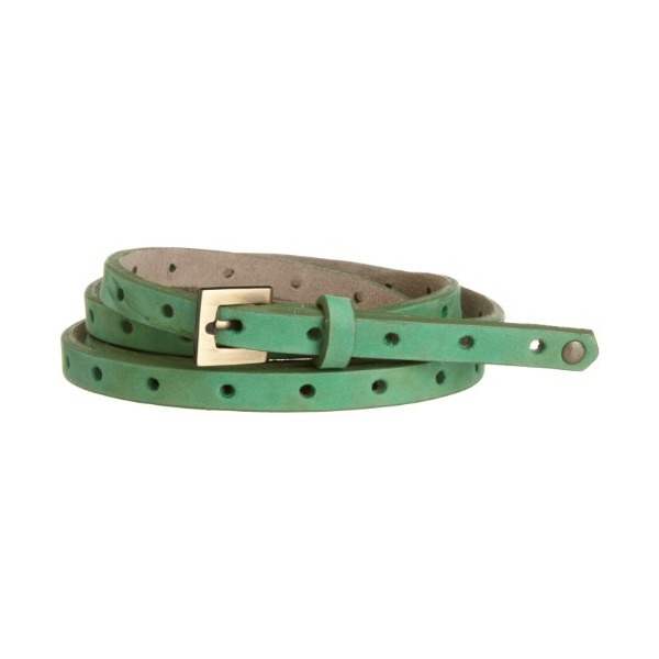 ADA Collection Women's Dot Belt, Electric Green, One Size
