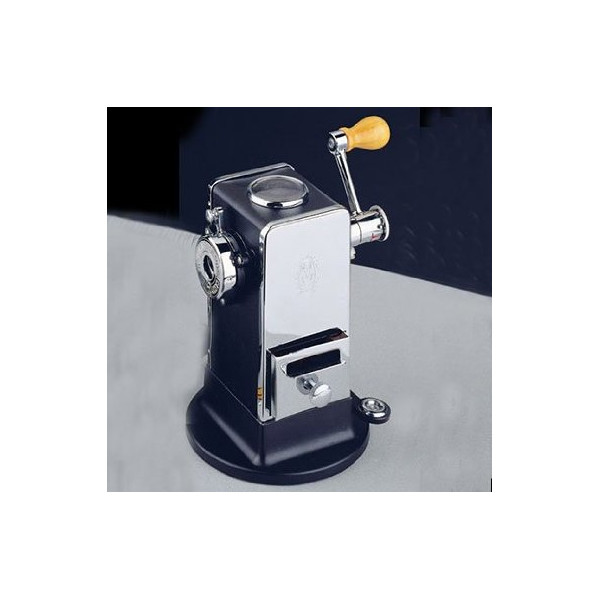El Casco Black & Chrome Pencil Sharpener With Base / Side Load M-430CN