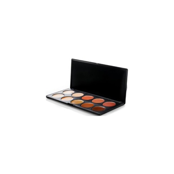 BH Cosmetics 10 Color Camouflage and Concealer Palette - Set