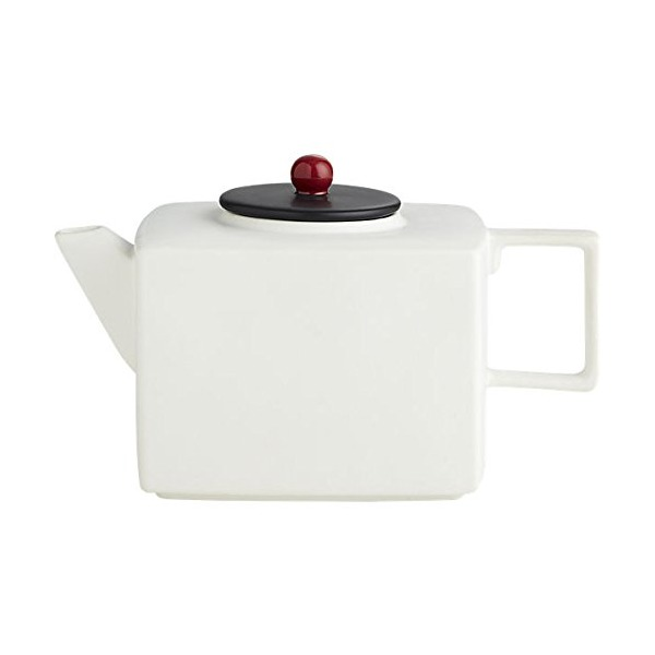 Mood White Teapot