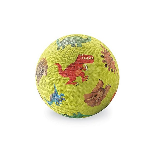 "Crocodile Creek 5"" Playball/Dinosaurs Green"