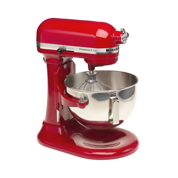 KitchenAid KV25GOXER Professional 5 Plus 5-Quart Stand Mixer, Empire Red