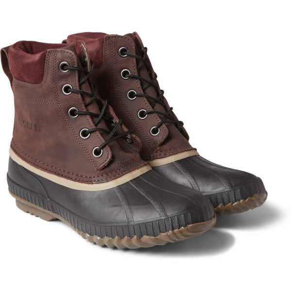 Sorel Cheyanne Lace Full Grain Rain Boot