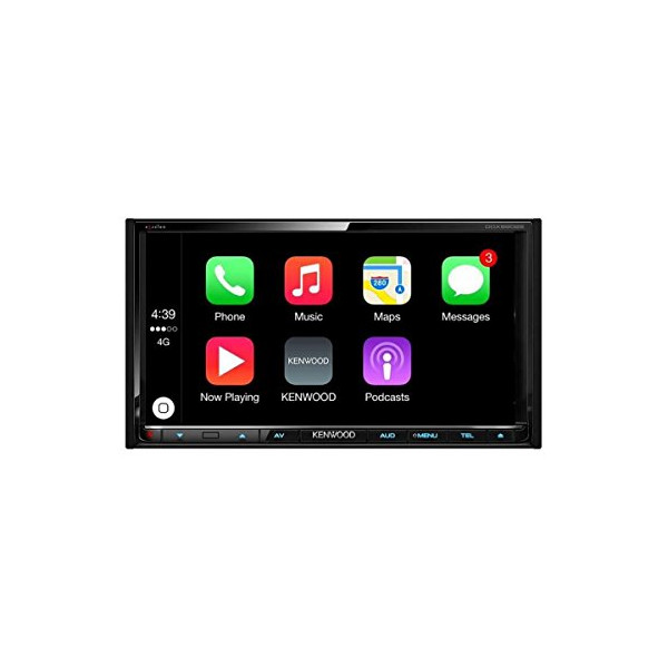 Kenwood eXcelon DDX9902S Multimedia Receiver with Apple CarPlay and Android Auto