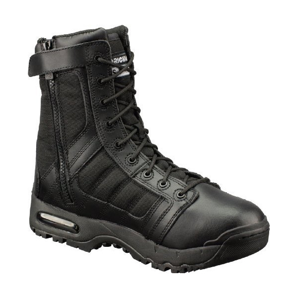 Original SWAT 1232 Air 9-inch Side-Zip Metro Traction Boot Black 10 M