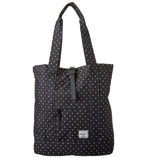 Herschel Supply Co. Market Tote Bag, Black Polkadot