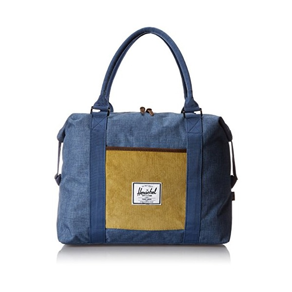 Herschel Supply Co. Strand Ranch Collection, Navy Crosshatch/Straw, One Size