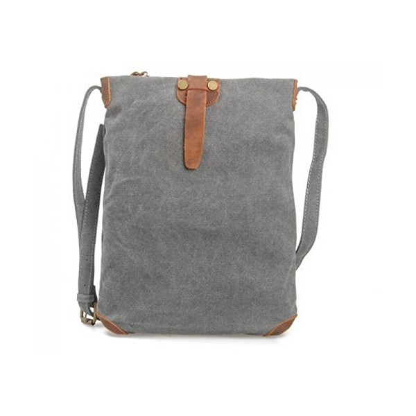 Casual Canvas Outdoor Travel Mini Backpack School Shoulder Bag Crossbody Daypack
