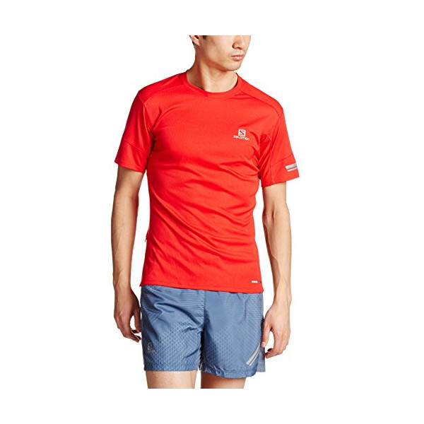 Salomon Agile SS Tee - Men's Matador-X Medium