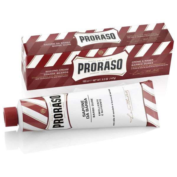 Proraso Shaving Cream, Sandalwood, 150 ml