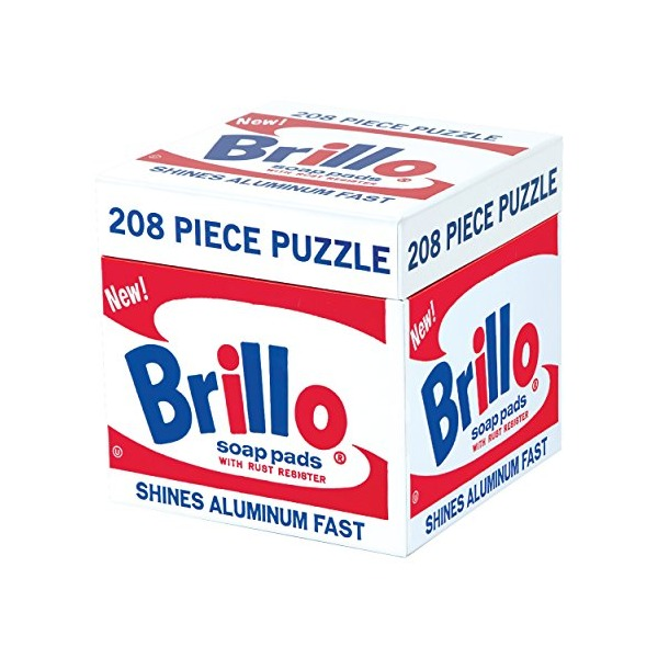 Mudpuppy Andy Warhol Brillo Puzzle (200 Piece)