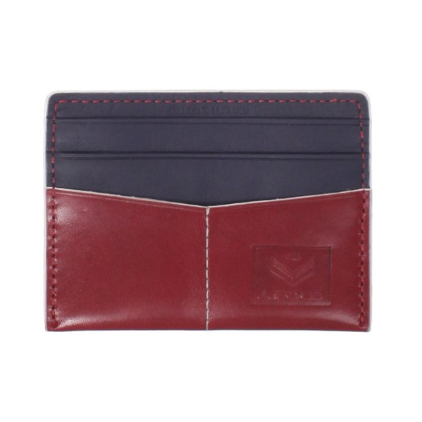 J.Fold Men's Thunderbird Flat Card Carrier, Red/Blue