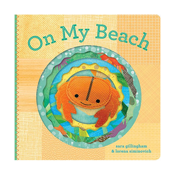 On My Beach (Felt Finger Puppet Board Books)